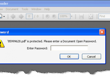 App Tools: How To Remove The Password From A Protected PDF File