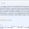 iPhone 4S Now Known Issue: Battery Life Drops 10 Percent Every Hour