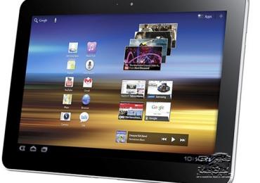 Samsung Galaxy Tab 10.1 GT-P7510 Ice Cream Sandwich Update Rolls Out