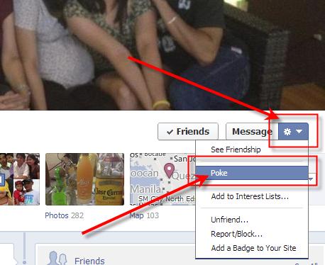 Facebook Poke In Timeline