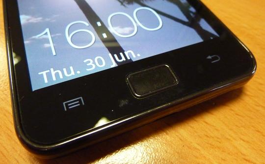 Samsung Galaxy S II Home Button
