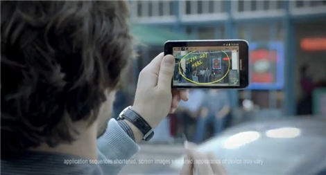 Samsung Galaxy Note Commercial Super Bowl 2012