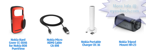 Nokia 808 PureView Accessories
