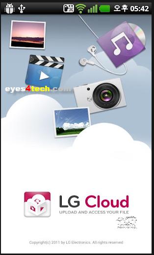 LG Cloud app From Google Play
