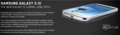 Samsung Galaxy S III Videotron