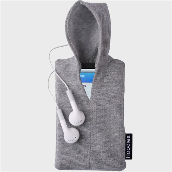 Dress up iPhone with iPod Hoodie