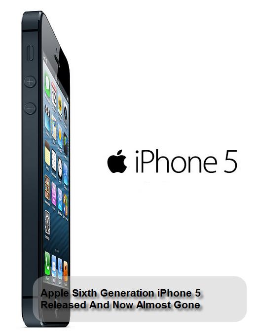Sixth Generation iPhone 5
