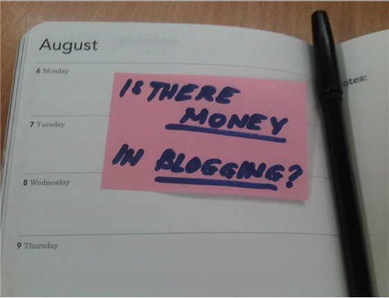 Is There Still Money In Blogging