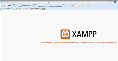 XAMPP Localhost Apache