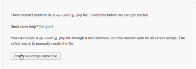 XAMPP wp-config file
