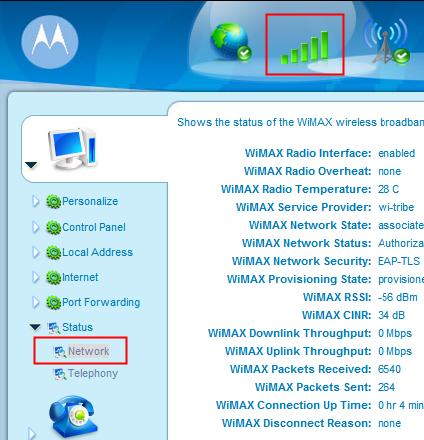 Motorola Network Monitor