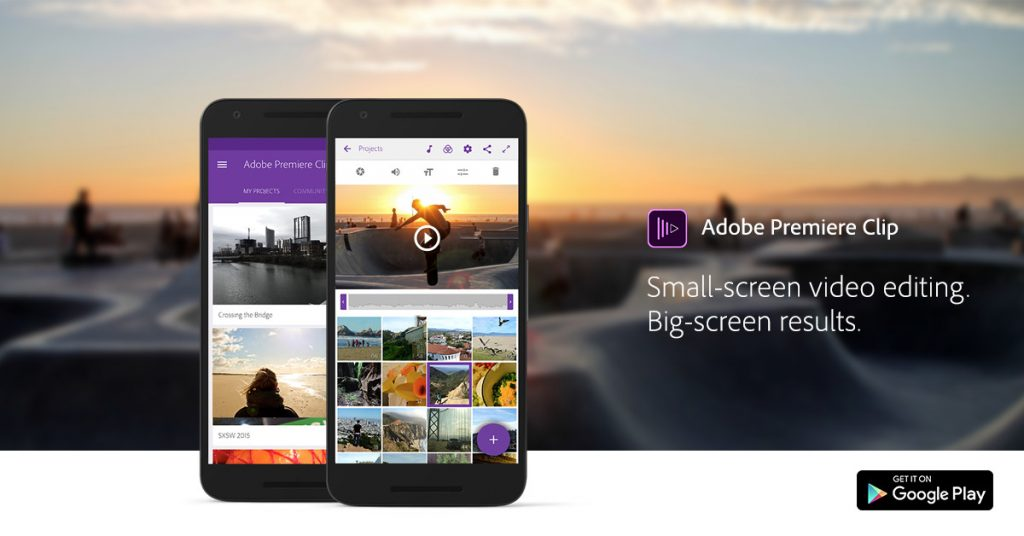 Adobe Premier Clip-Best Apps for Making Video